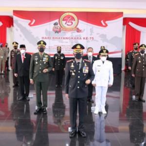 Hari Bhayangkara ke-75, Polresta Malang Kota Fokus Percepatan Penanganan Covid-19