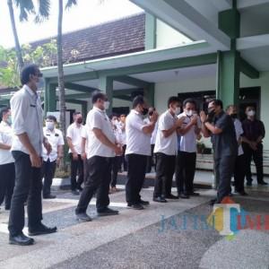 Purna Tugas, Kepala DPUPRPKP Kota Malang Beri Pesan Khusus Para Pegawai