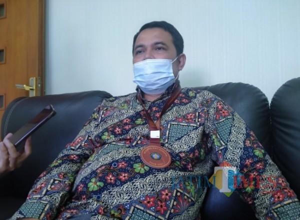 Penyelidik Komisi Pemberantasan Korupsi (KPK) Dr Harun Al Rasyid SH MHum (Anggara Sudiongko/MalangTIMES)