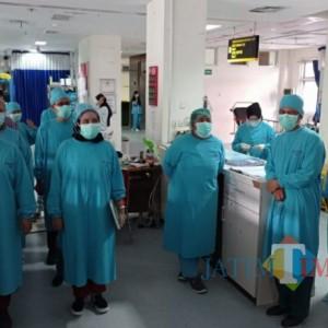 Covid-19 Melonjak Tinggi, Tenaga Kesehatan Rumah Sakit  Mulai Kelelahan
