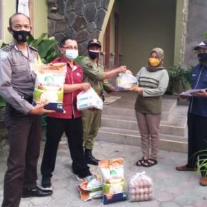 Lagi, Dinsos Kota Kediri Dropping 70 Paket Sembako Plus di 21 Kelurahan