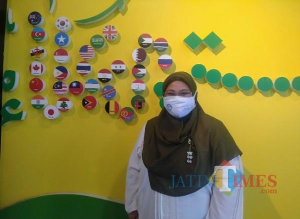 Dekan FK Unisma, dr Rahma Triliana MKes Ph (Anggara Sudiongko/MalangTIMES)