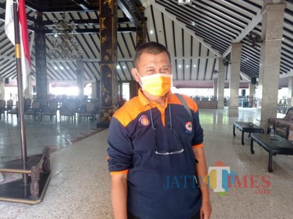Sekretaris BPBD Kabupaten Malang, Bagyo Setiono (foto: Hendra Saputra/MalangTIMES)