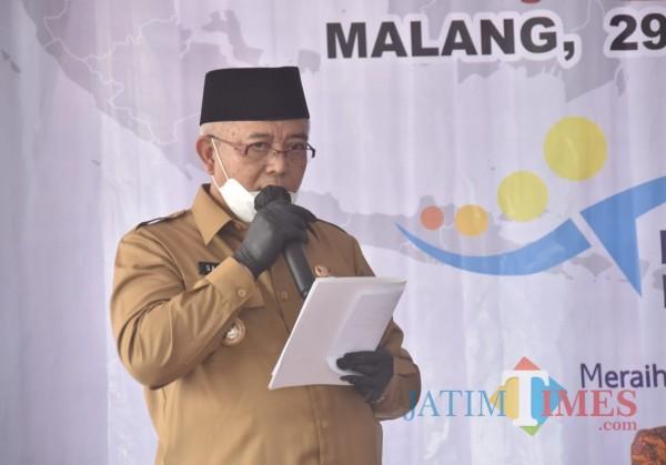 Bupati Malang Sanusi dalam suatu acara (dok JatimTimes)