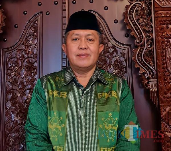 Ketua DPC PKB Kabupaten Malang HM Kholik (for MalangTIMES)