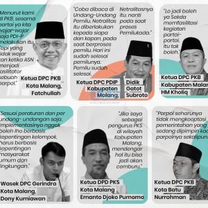 Jadi Fasilitator Program Parpol, Politisi Kota Malang Nilai Tidak Wajar