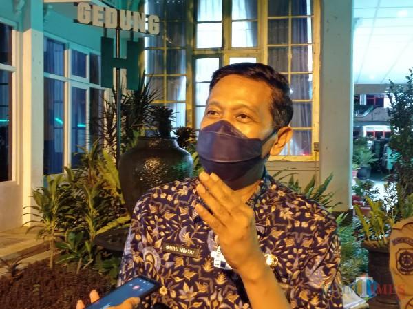 Sekda Kabupaten Malang, Wahyu Hidayat (Hendra/MalangTIMES)