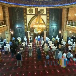 Dua Pekan, Salat Jumat di Masjid Ditiadakan di Kota Batu