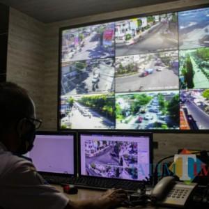 Diskominfo dan Dishub Kota Kediri Sinergi, Sosialisasikan Kebijakan PPKM Darurat