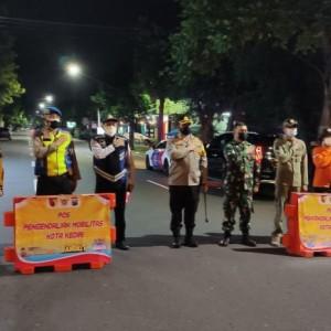 Ini 6 Titik Penyekatan Jalan Selama PPKM Darurat di Kota Kediri