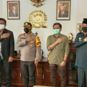 Kapolresta Banyuwangi Silaturahmi ke Pimpinan DPRD, Ini Yang Dibicarakan