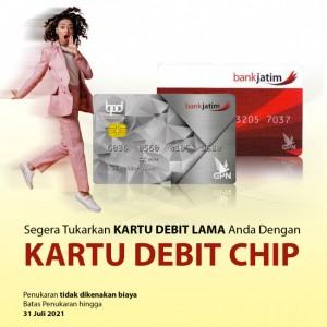 Tingkatkan Keamanan Bertransaksi, Bank Jatim Imbau Nasabah Ganti Kartu ATM Lama dengan Kartu ATM Chip