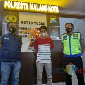 Polisi Amankan Penyebar Hoaks Kecelakaan akibat PJU Dipadamkan di Kota Malang ternyata Warga Kota Batu
