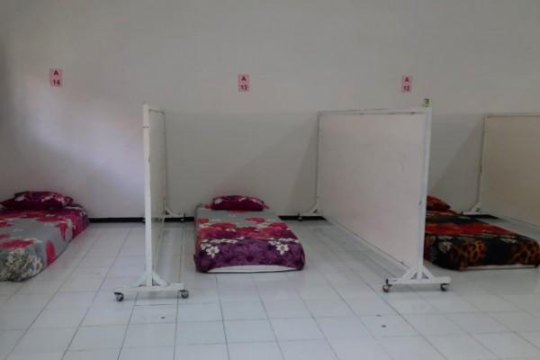 Pemerintah Kota Kediri telah membangun 2 tempat isolasi terpusat, yaitu bekas gedung Balai Pelatihan Kerja (BLK) dan GNI. (Foto: Ist)