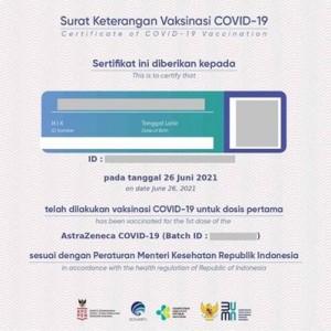 Cara Download Sertifikat Vaksin Covid-19 lewat Pedulilindungi.id