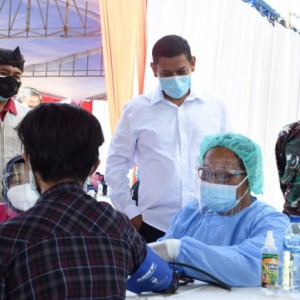 Serbuan Vaksinasi, Percepat Kota Kediri Capai Kekebalan Komunal