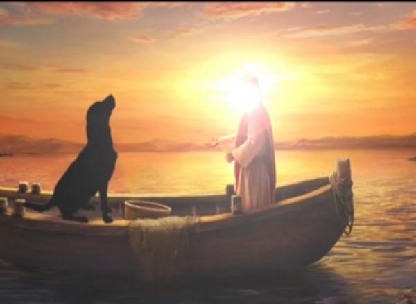 Ilustrasi Nabi Abdul Ghaffar yang bertemu seekor anjing (Ist)