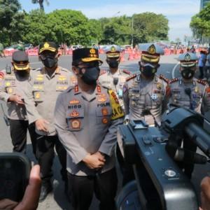 Kapolda Jatim: Tak Bawa Surat Bebas Covid-19 Dilarang Masuk Surabaya