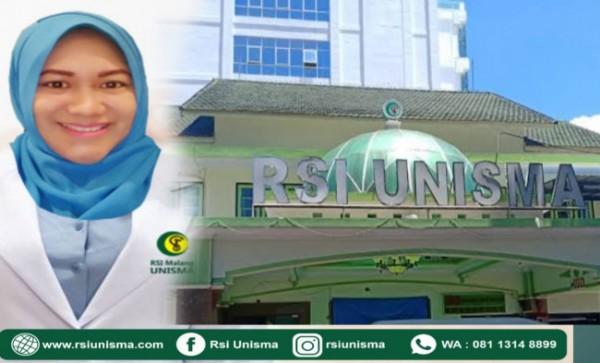 dr Fifin Pradina D, SP THT-KL, Manager Pelayanan Medis dan Ketua Satker RSI Unisma (Ist)