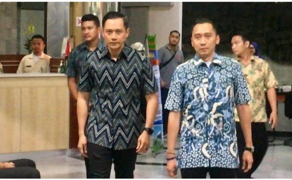 AHY dan Ibas Yudhoyono (Foto: Tribunnews)