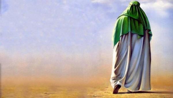 Ilustrasi seorang nabi yang tengah keluar dari rumahnya (umma)