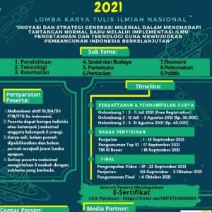 Lewat Event Nasional Saitechi Competition 2021, Unikama Dorong Kreativitas Mahasiswa Terjaga di Masa Pandemi