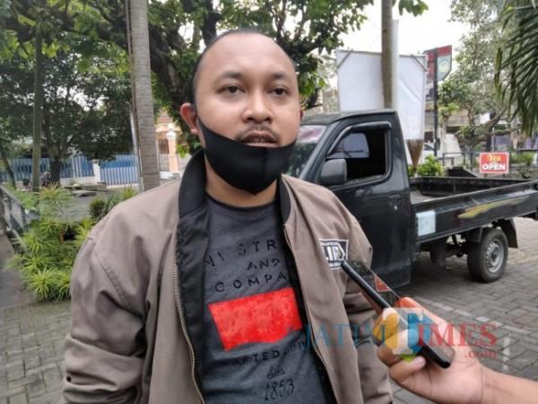 Sekretaris DPD LIRA Malang Raya, Dito Arief Nurakhmadi (foto: Hendra Saputra/MalangTIMES)