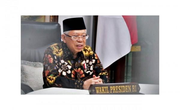 Wapres Ma'ruf Amin (Foto: Kompas.com)
