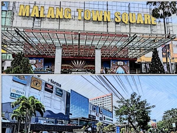 Pusat perbelanjaan di Kota Malang (Ist)