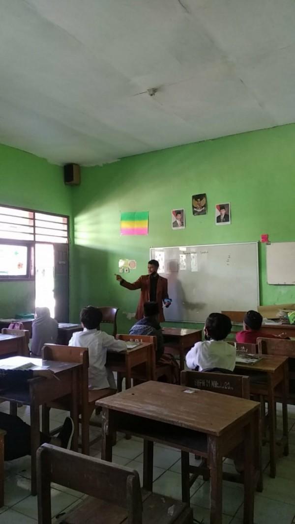 Mahasiswa Unikama dalam program kampus mengajar (Ist)