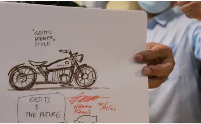 Motor listrik Ridwan kamil