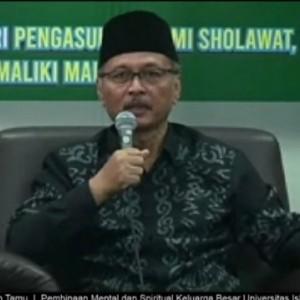 Lewat Puisinya, Rektor Sampaikan Asa Pelaksanaan Kurban di UIN Malang