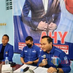 Plt Ketua DPC Partai Demokrat Ngawi Dukung Penuh Masukan Edhie Baskoro Yudhoyono untuk Pemerintah
