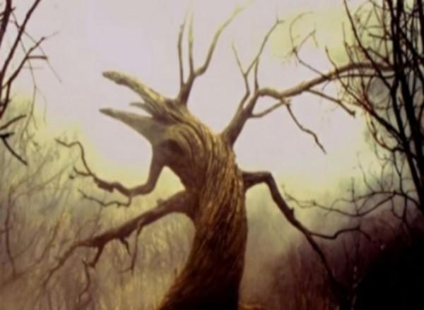 Ilustrasi pohon Zaqqum (Ist)