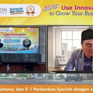 Kupas Inovasi Bisnis, FEB Unisma Hadirkan CEO PT Paragon Innovation & Technology