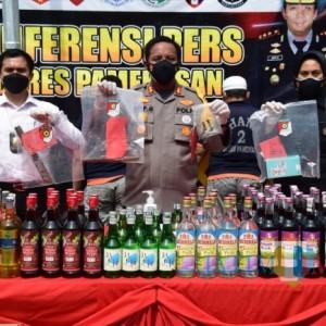 Operasi Sikat Semeru 2021, Polres Pamekasan Amankan 17 Tersangka Pelaku Kriminalitas