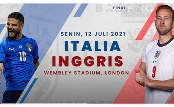 Inggris VS Italia (Foto: YouTube)
