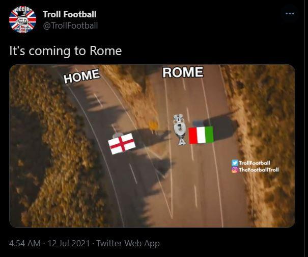 Inggris kalah