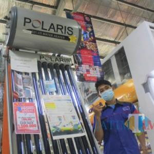 Hanya di Graha Bangunan, Pemanas Air Tenaga Surya Polaris Ada Cashback Spesial