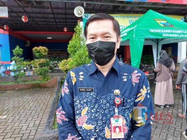 Kepala Dinas Keashatan Kota Malang Husnul Muarif saat ditemui awak media beberapa waktu lalu. (Foto: Tubagus Achmad/MalangTIMES)