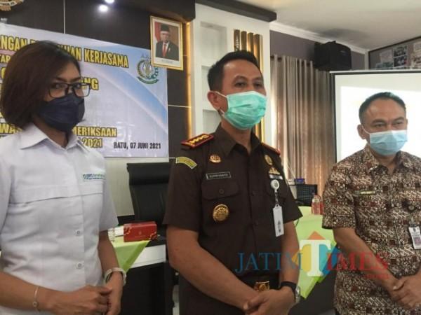 Kepala Kejari Kota Batu Supriyanto.