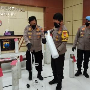 Jual Tabung Oksigen Harga Dua Kali Lipat, Kakak dan Adik Ditangkap Polisi