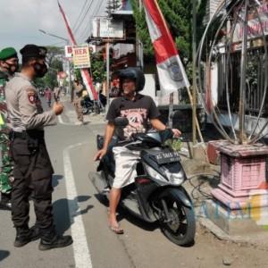 Tak Pakai Masker di Jalanan Kota Blitar, Awas Diburu Petugas Gabungan