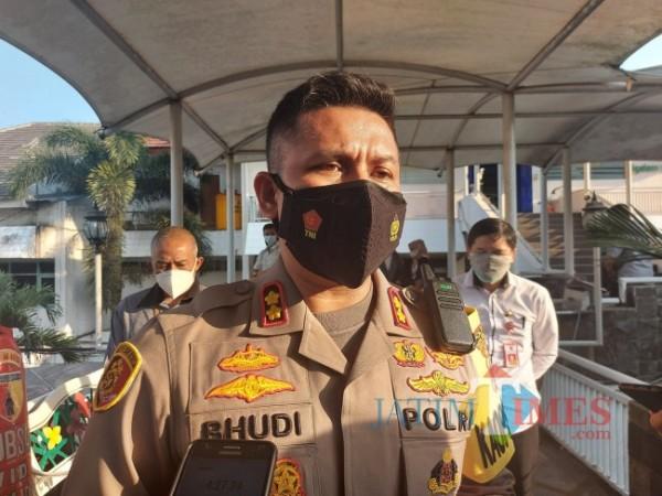 Kapolresta Malang Kota AKBP Budi Hermanto saat ditemui awak media beberapa waktu lalu. (Foto: Tubagus Achmad/MalangTIMES)