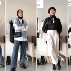 Ciptakan Style yang Lebih Modis dengan Black And White Outfit, Intip Inspirasinya!