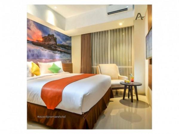 Potret kamar di Ascent Premier Hotel Malang untuk isolasi mandiri pasien Covid-19. (Foto: Istimewa).