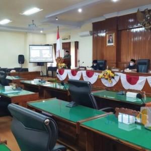 Lanjutkan Pembahasan, DPRD Trenggalek Kembali Gelar Paripurna tentang Usulan Ranperda