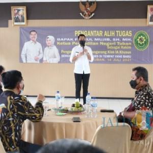 Ketua PN Tuban Pindah Tugas Ke PN Kelas 1A Khusus Tangerang
