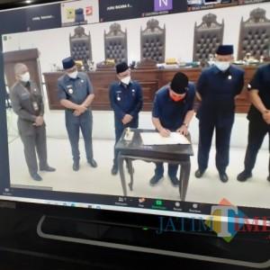 Dok! Ranperda Perubahan RPJMD Kota Malang 2018-2023 Disepakati Legislatif