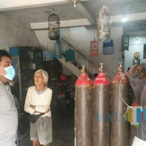 Rutin Cek Distribusi Oksigen di Tulungagung, Polisi Minta Prioritaskan Kepentingan Medis